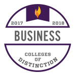 College of Distinction Program Badge Business 2017-2018