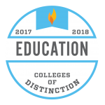 College of Distinction Program Badge Education 2017-2018
