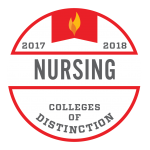 College of Distinction Program Badge Nursing 2017-2018