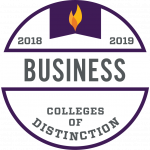College of Distinction Program Badge Business 2018-2019