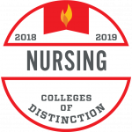 College of Distinction Program Badge Nursing 2018-2019