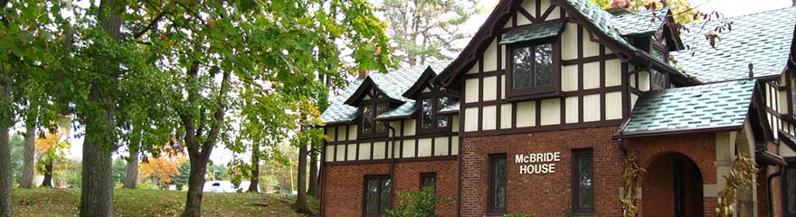 McBride House at Ramapo College