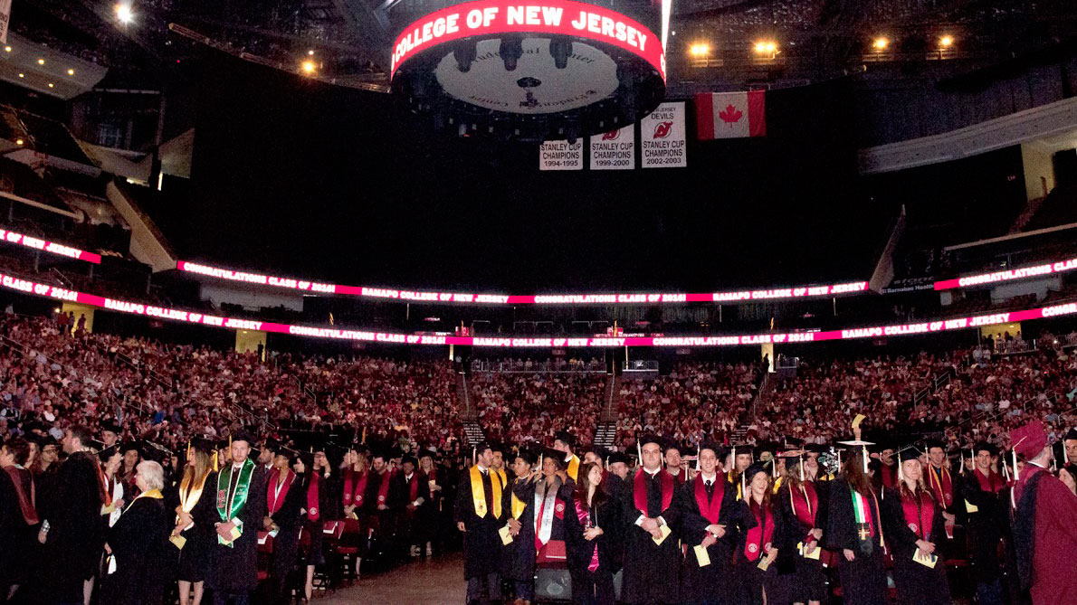 Commencement 2016, Prudential Center, May 13, 2016