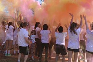 Alumni Events - Run With Color Image