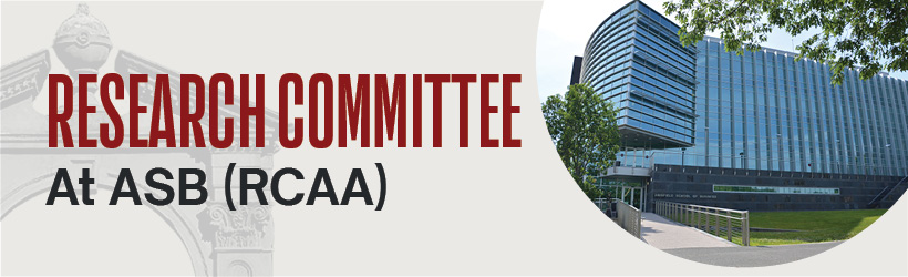 Research Committee at ASB (RCAA)