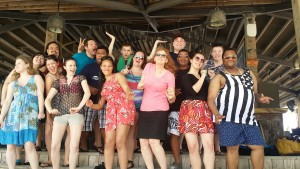 Ramapo Choral Tour in Guam, 2014