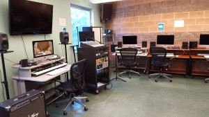 electronic and computer music lab
