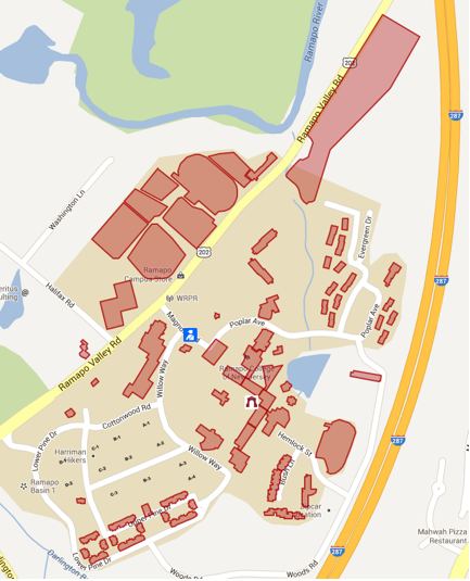 Rockland Community College Campus Map.College At A Glance Catalog 2017 2018 Ramapo College Of New Jersey