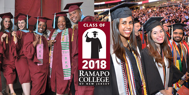 Commencement 2018 at Ramapo College
