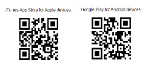 QR Codes to download app