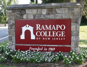 Ramapo College Sign