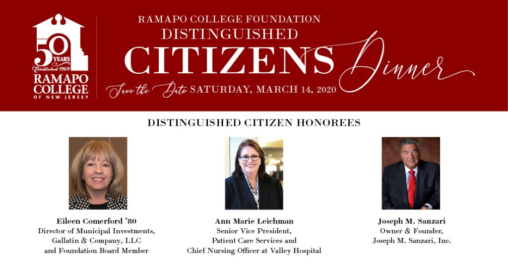 38th Annual Distinguished Citizens Dinner Poster