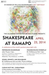 Shakespeare at Ramapo 2014