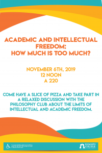 Academic and Intellectual Freedom: How Much is Too Much?