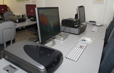 Photo: Mac Mini computers