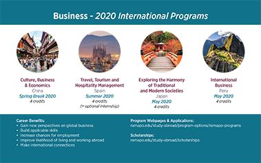 Business - 2020 International Programs Image