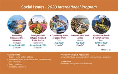 Social Issues - 2020 International Program Image