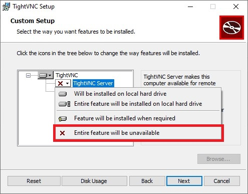 Install TightVNC Viewer 2