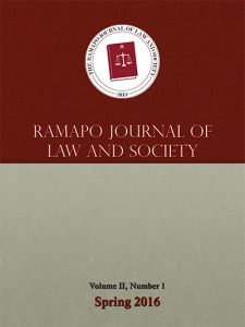 Ramapo Journal of Law and Society v2