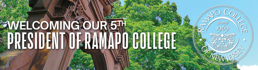 Welcoming the 5th President of Ramapo College