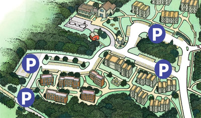 Parking Maps - Public Safety || Ramapo College of New Jersey