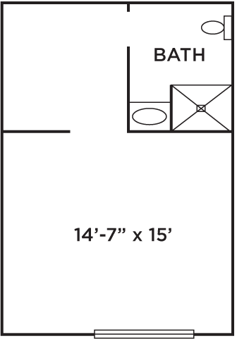 Floor Plan of Biscoff Hall at Ramapo College
