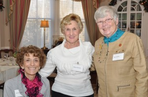 Retired faculty and staff enjoy time together as they are hosted by President Mercer at the Havemeyer House 1