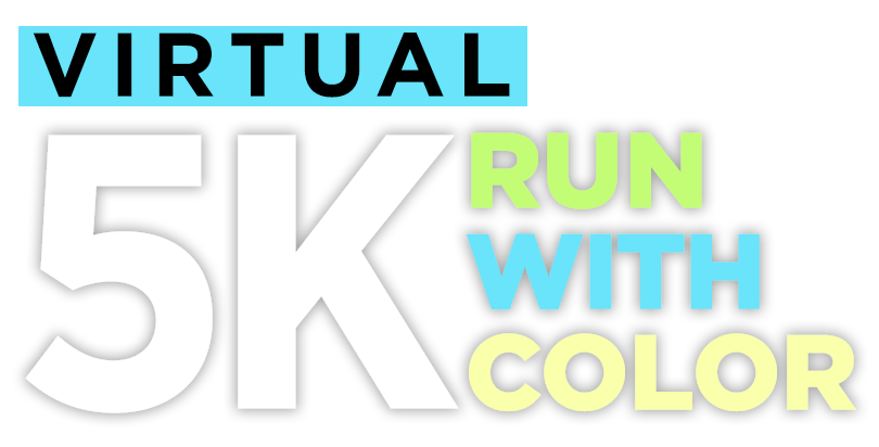 Virtual 5K Run with Color