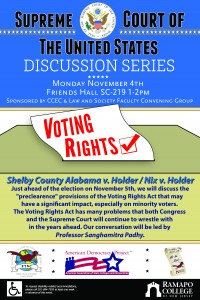 Voting Rights event