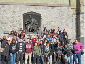 Upward bound college trip