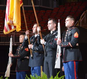 Ramapo Commencement Honor Guard