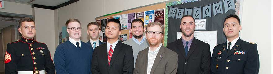 Veterans and Ramapo College Faculty