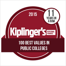 Ramapo College is rated in Kiplinger's Personal Finance within the 100 Best Values in Public Colleges in 2015