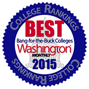 Ramapo College Receives High Ranking by Washington Monthly Magazine