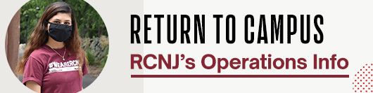 Return to Campus: RCNJ's Operations Information