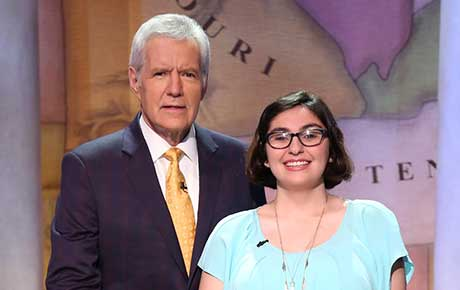 First-Year Ramapo Student Competes on Jeopardy!