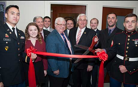 Ramapo College designated 'Military Friendly'; Opens Transfer Student and Veterans Lounge