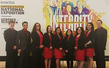 Enactus Team Represents Ramapo College in National Competition