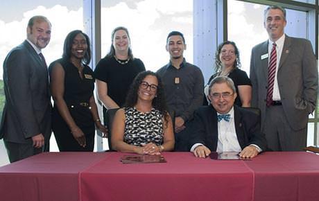 Ramapo College, Passaic Schools Establish Partnership