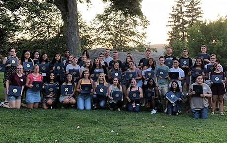 Ramapo College Recognizes its Largest Leaders In Service (LIS) Class