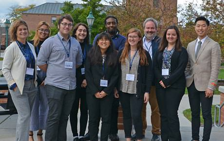 Students Represent Ramapo College at Annual COPLAC Conference