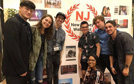 Ramapo Film Students Earn Top Editing Award for Web Series