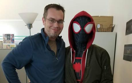 Alumnus Takes the Animation Lead on 'Spiderman' Blockbuster