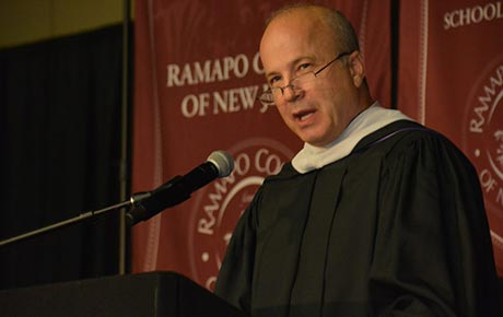 Author Camron Wright Delivers Opening Convocation Address at Ramapo College