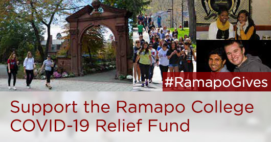 Support the Ramapo College COVID-19 Relief Fund