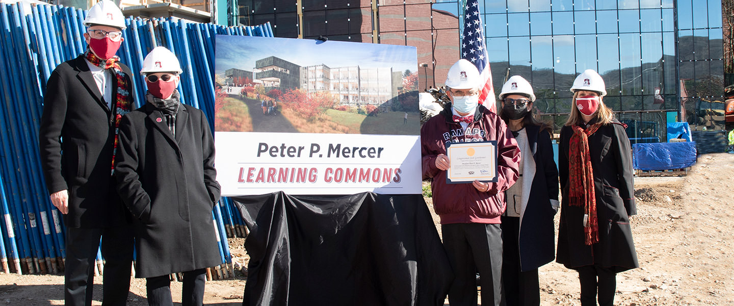 Ramapo College of New Jersey Names the Peter P. Mercer Learning Commons
